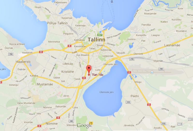 Meie uus asukoht – Türi 10c, Tallinn