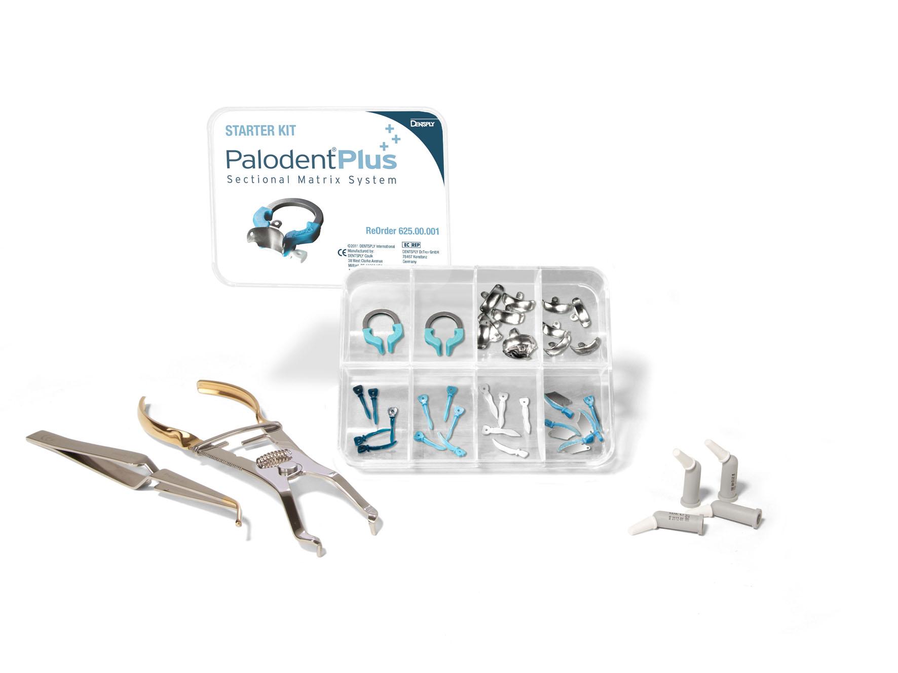 Ostes Palodent Plus neerukujuliste matriitside stardikomplekti, saate tasuta 10 kapslit SDR voolavat täidismaterjali !