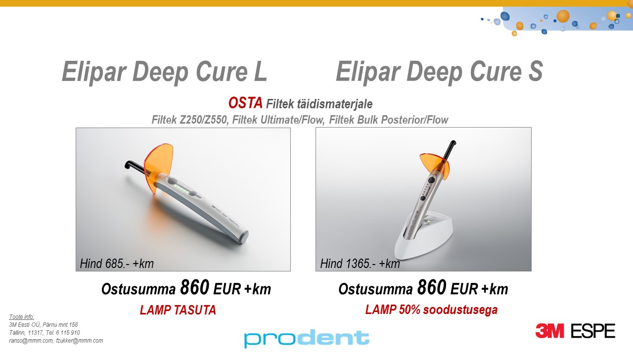 1ab99bf9263 Elipar DC pakkumine Prodent – Prodent OÜ