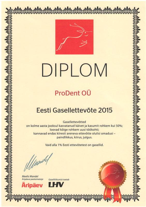 7d85786fac6 Prodent on 100% Eesti erakapitalil põhinev ettevõte ning selle üle tunneme  me eriti uhkust!